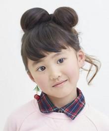 子どもの髪でも作れる大人気リボンヘア